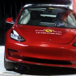 Tesla's Model 3 extends its five-star NCAP safety rating
