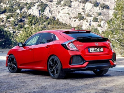 Honda Civic Hatchback 1.0 VTEC Turbo SE [2017]