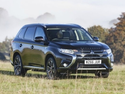 Mitsubishi Outlander Phev Estate 2.4 Juro 5dr Auto [Leather]